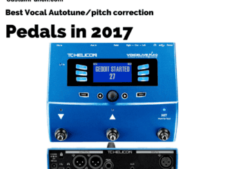 Best vocal pitch correction and autotune processors 2017