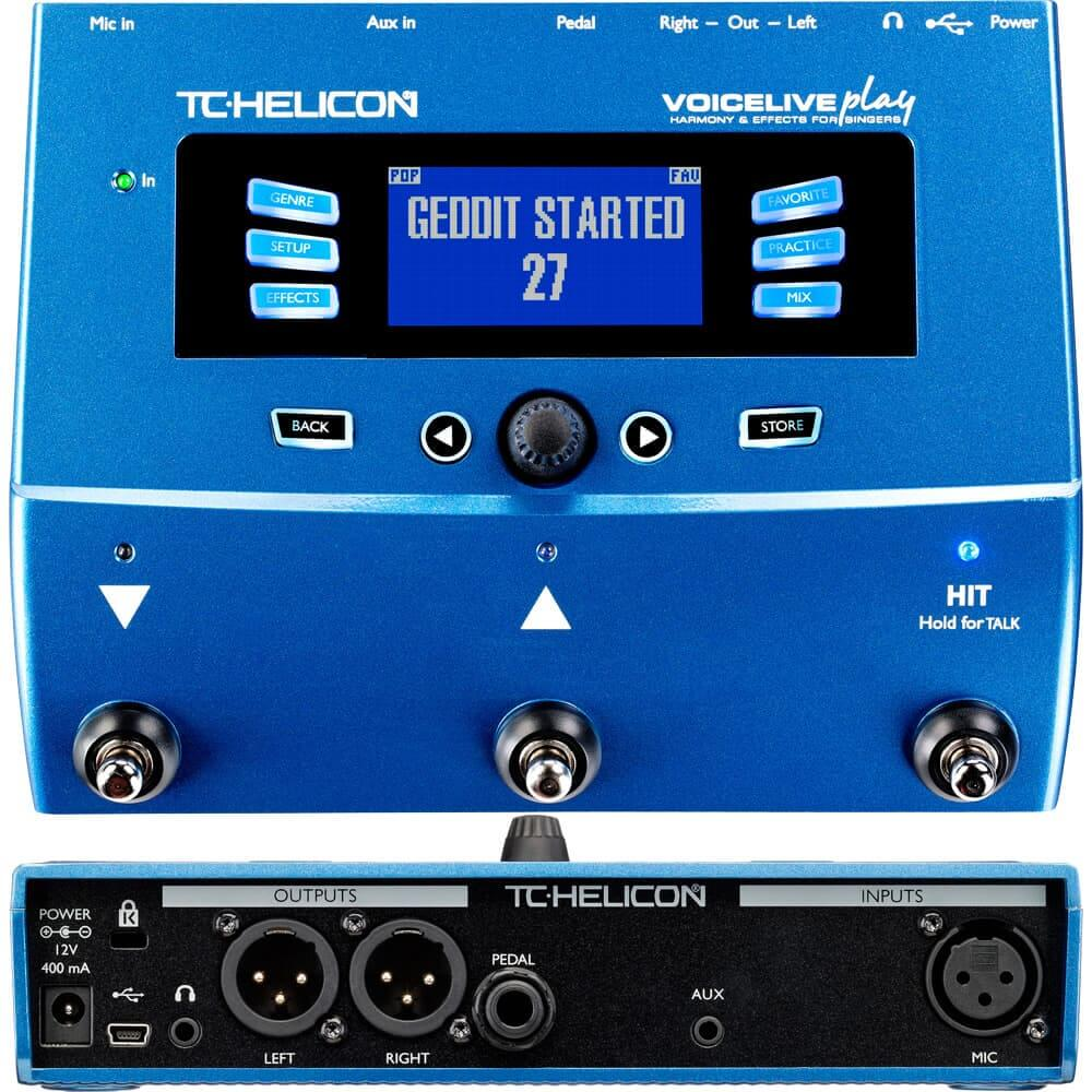 TC Helicon Voice Live Play - Vocal Delay Pedal