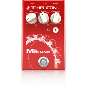 TC Helicon Mic Mechanic 2 - Vocal Reverb Pedal