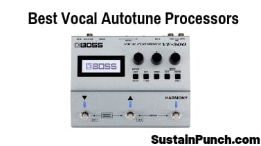 Best Vocal Autotune Pedals and Pitch Correction Processors