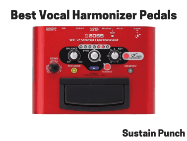 Top 10 Best Vocal Harmonizer Pedals (2019 Reviews
