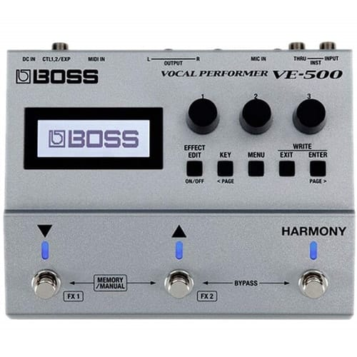 BOSS Vocal Performer Effects Processor Guitar Pedal
