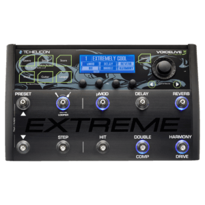 TC Helicon VoiceLive 3 Extreme Vocal Harmonizer