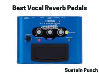 Vocal Reverb Pedals