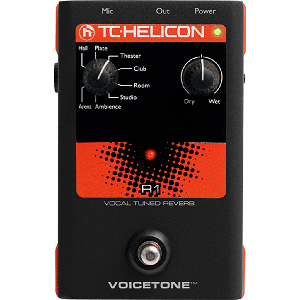 TC Helicon R1 Vocal Reverb Pedal