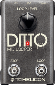 Ditto Live Mic looper pedal