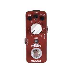 Mooer MOC1 Pure Octave pedal for bassists