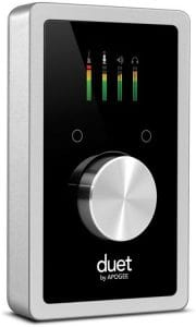Apogee Duet audio interface for Mac OS