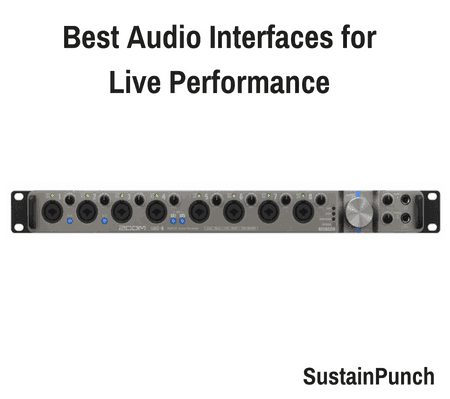 10 Best Audio Interfaces for Live Performance (2018 Review)