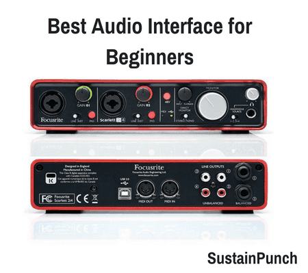 7 Best Audio Interface for Beginners (2018 Review)