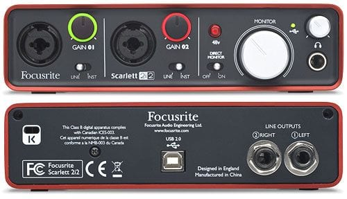 Focusrite Scarlett 2i2 [2nd Gen]