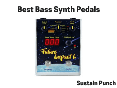 Bass Synth Pedals