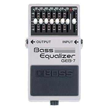 Boss GEB 7 7-Band Bass Equalizer Pedal