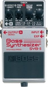 Boss SYB 5 Bass Synth Pedal