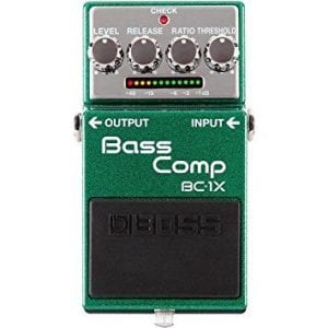 Boss BC-1X Compression pedal for bassists