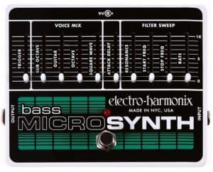 Electro Harmonix Bass Micro-Synthesizer Pedal For Bass