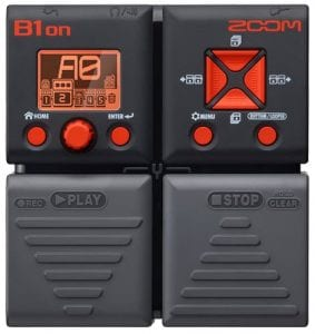 Zoom B1on Bass Effects Pedal and Synth Bass Processor