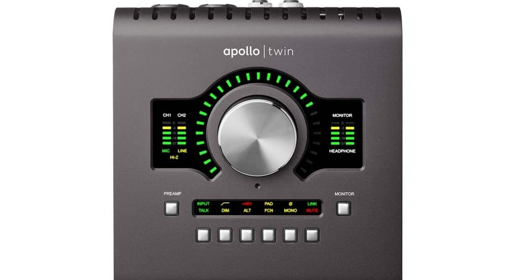 Universal Apollo Twin MKII Audio interface for Mac OS