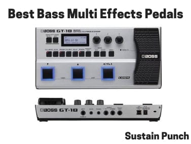Bass Multi-Effects Pedals