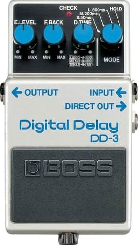 Boss DD-3 Digital Delay Pedal for Bass