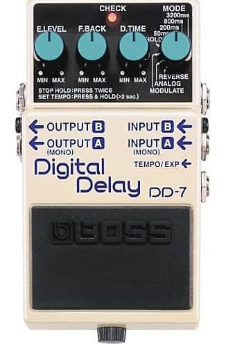Boss DD-7 Digital Bass Delay Pedal