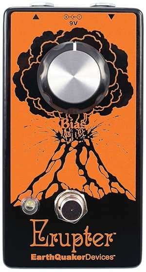 EarthQuaker Devices Erupter-Ultimate Bass Fuzz Tone Pedal