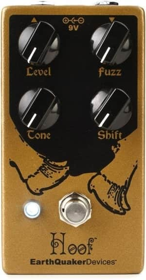 EarthQuaker Devices Hoof V2 Fuzz Pedal for Bass