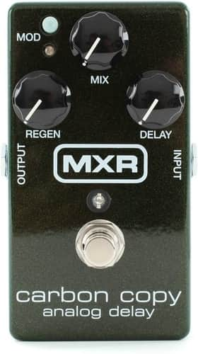 MXR M169 Carbon Copy Analog Bass Delay Pedal