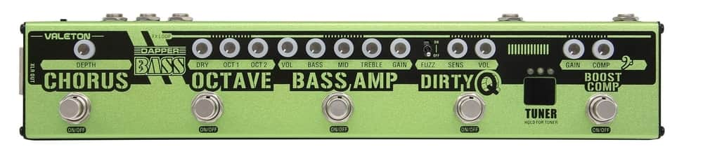 Valeton Dapper Bass Multi Effects Pedal (VES-2)