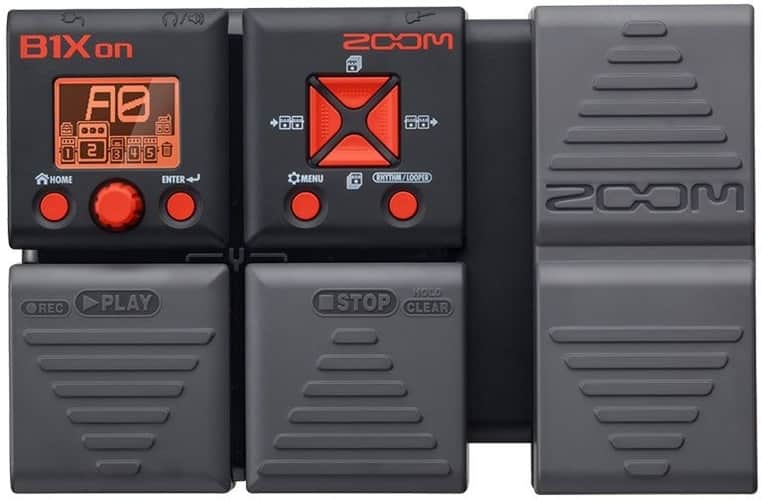 Zoom b1xon Bass Multi Effects Pedal