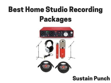 Best Home Studio Recording Packages