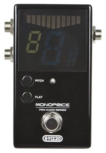 Monoprice 611220 Chromatic Tuner for Guitar