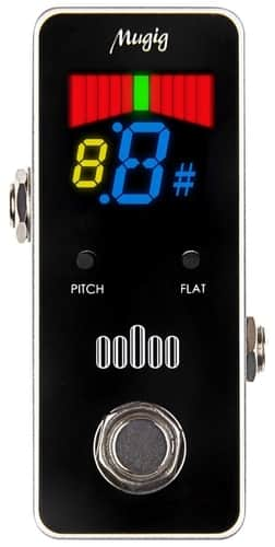 Mugig Tuner Pedal For Guitar