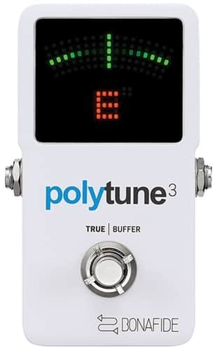TC Electronic PolyTune 3 Guitar Tuner Processing Pedal