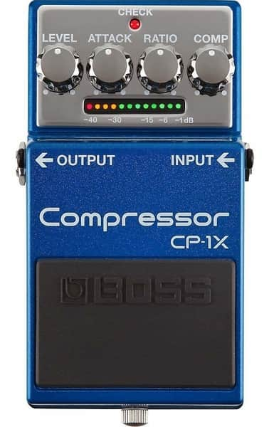 Boss CP-1X Compressor Unit for Guitar