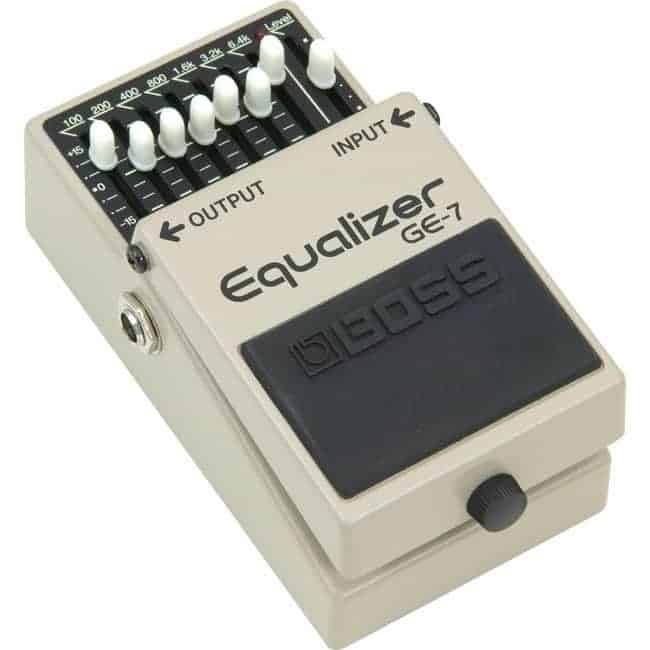 Boss GE-7 7-Band EQ Pedal For Guitar