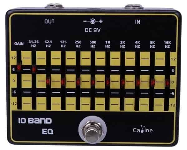 Caline USA CP-24 10-Band EQ Processor