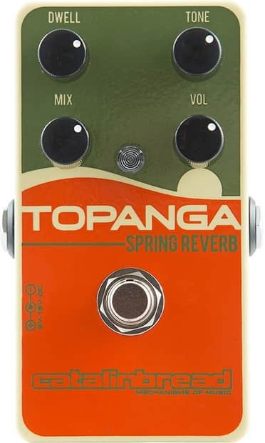 Catalinbread Topanga Spring Guitar Reverb Effect Pedal