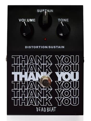 Deadbeat Sound Distortion Guitar Sustain Pedal