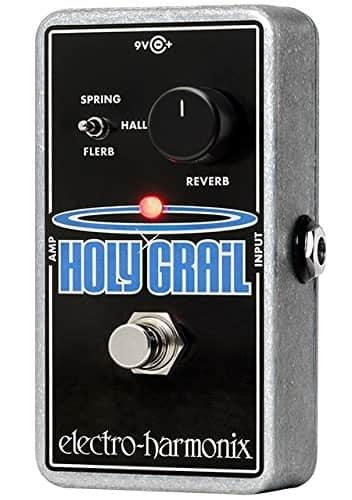 Electro-Harmonix HOLY GRAIL NANO Reverb Pedal for Guitar