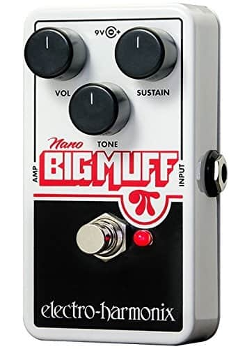 Electro-Harmonix Nano Big Muff Distortion Guitar Sustain Pedal