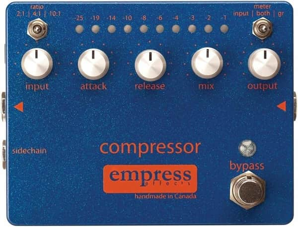 Empress Analog Compressor Pedal for Guitar