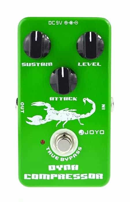 JOYO JF-10 Dynamic Compressor Pedal For Guitar