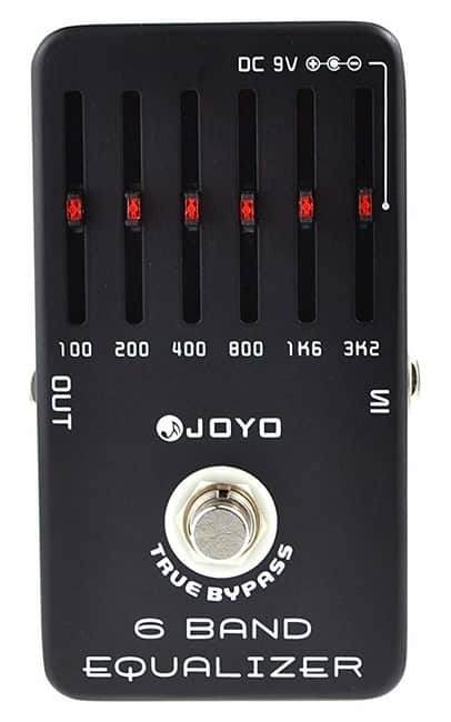 Joyo JF-11 6 Band EQ Guitar Pedal Processing Unit