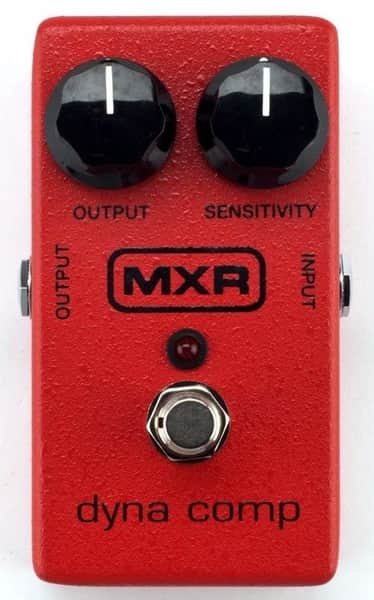 MXR M102 Dyna Comp Compressor Pedal For Guitar