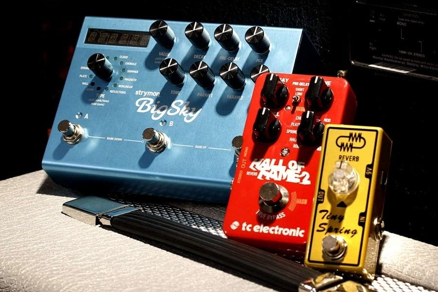 Guitar Reverb Pedals - Top 13 Best Reverb Pedals For Guitar 2020