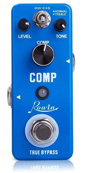 Rowin Compression Pedal for Guitar