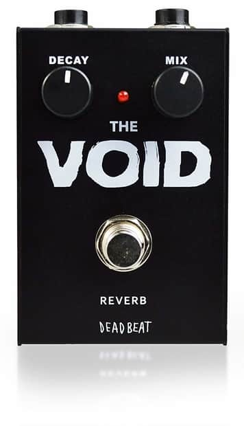 THE VOID Guitar Reverb Effect Pedal by Deadbeat Sound