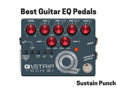 Best Guitar EQ Pedals - Equalizer Processors for Guitar