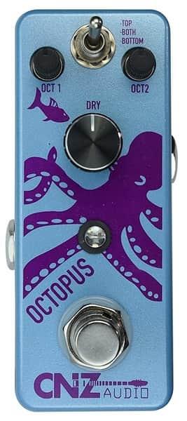 CNZ Audio Octopus Octave Machine for Guitar
